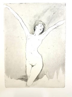 Jean Gabriel Domergue - Happiness - Original Etching