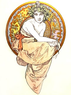 Alfons Mucha - Anatole France - Clio - 13 Original Lithographs