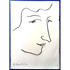 Original Lithograph - Henri Matisse - Colette