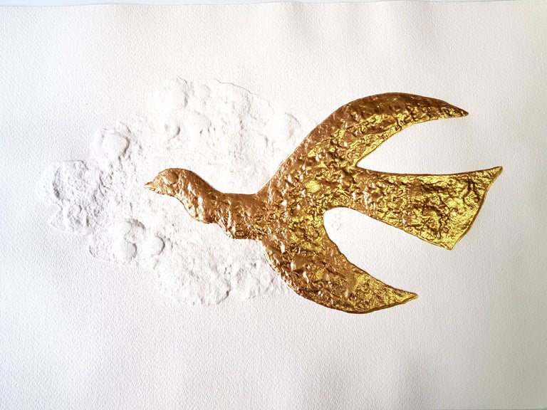 Georges Braque (after) - 12 Gold Leaf Enhanced Etchings - Gods  For Sale 1