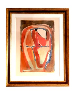 Bram Van Velde - Signed Abstract Composition - Original Lithograph