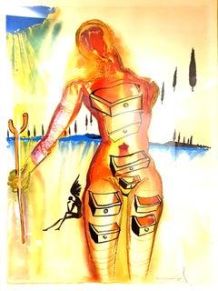 Salvador Dali - Dawn of Port Lligat - Original Hand-Signed Lithograph