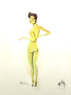 Domergue - Naked - Original Signed Lithograph