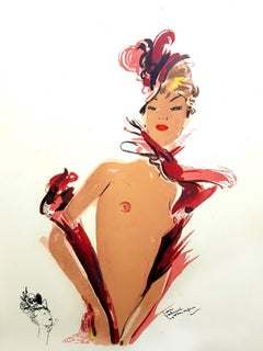 Domergue - The Dancer - Original Lithograph