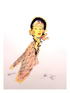 Domergue - Parisienne - Original Signed Lithograph