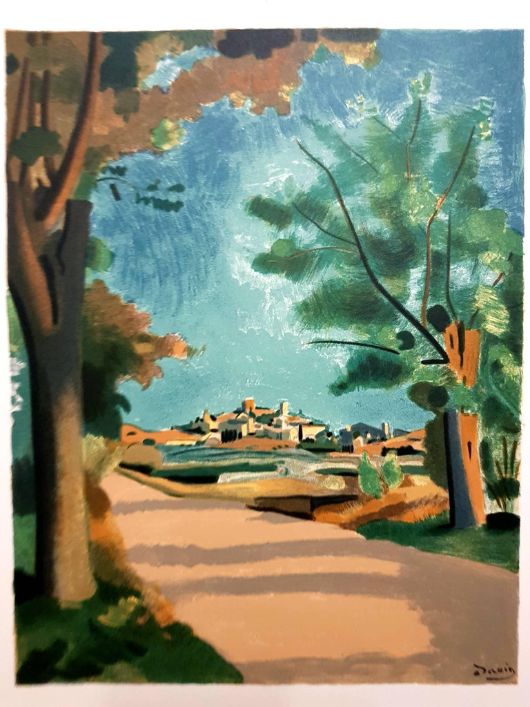Provence Village - Lithograph