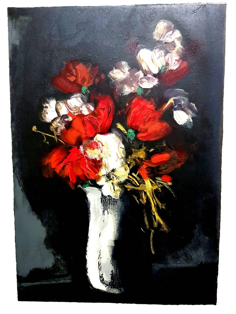 Flowers - Lithograph