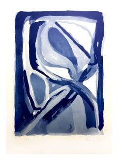 Bram Van Velde - Signed Abstract Composition - Original Lithograph