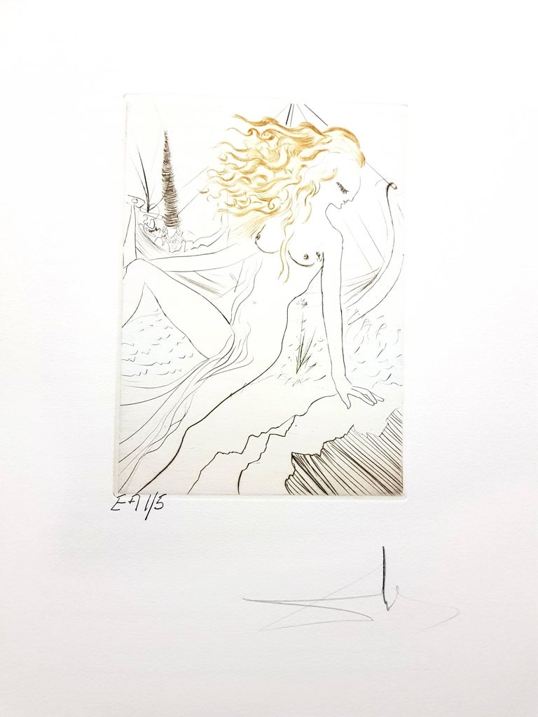 Decameron - Portfolio of 10 Original Signed Engravings by Salvador Dali - Print by Salvador Dalí