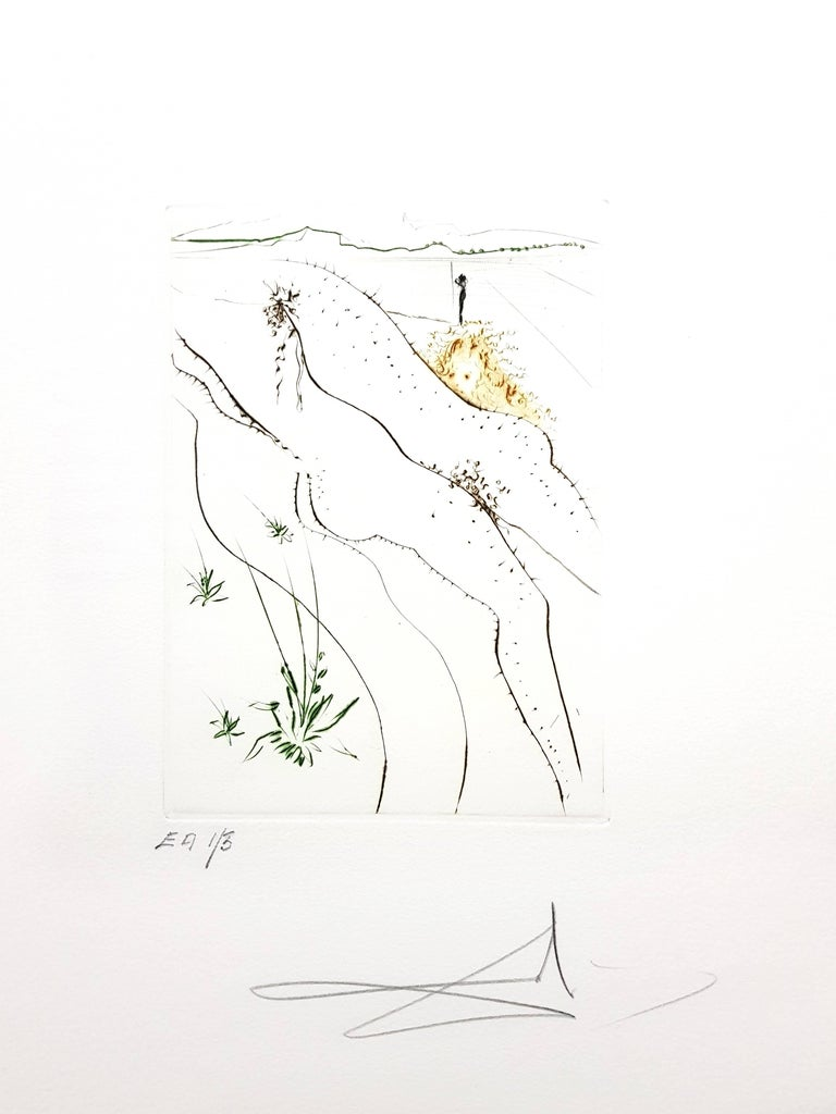 Decameron - Portfolio of 10 Original Signed Engravings by Salvador Dali For Sale 5