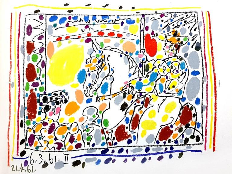 Pablo Picasso - Toros - Original Lithograph