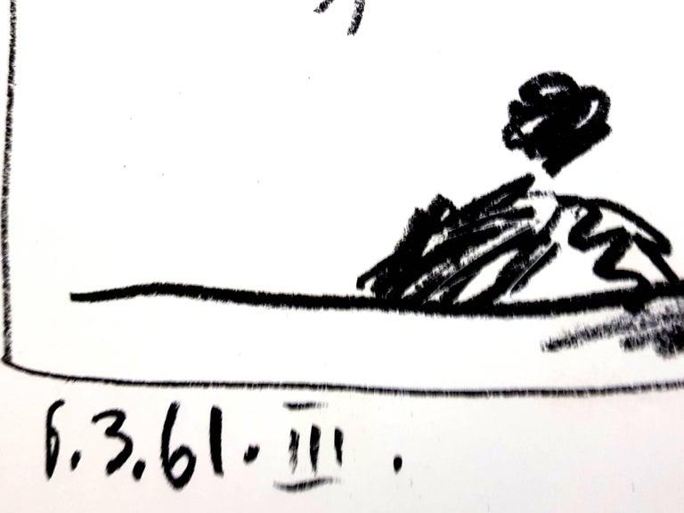 Pablo Picasso - Jeu de la Cape - Original Lithograph For Sale 1