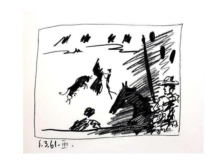 Pablo Picasso - Jeu de la Cape - Original Lithograph - Print by Pablo Picasso