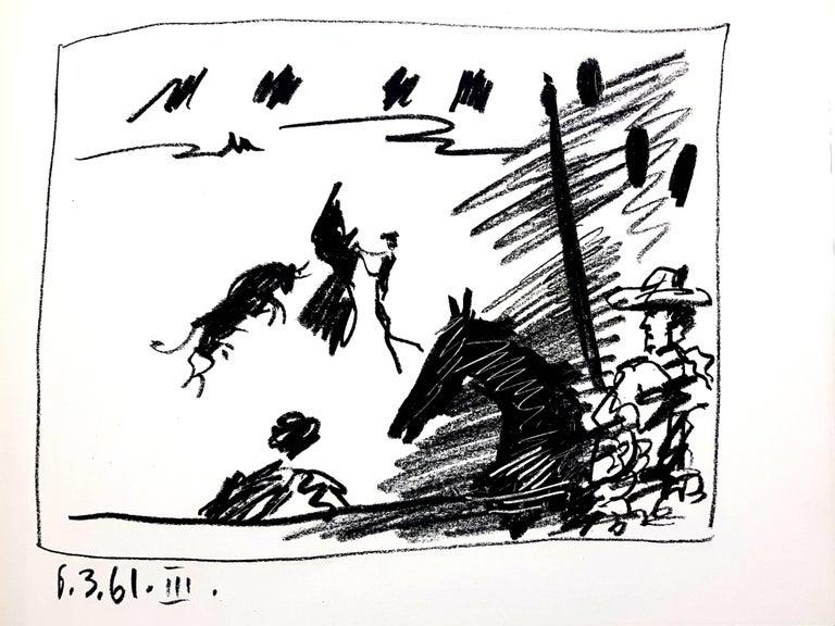 Pablo Picasso - Jeu de la Cape - Original Lithograph - Modern Print by Pablo Picasso