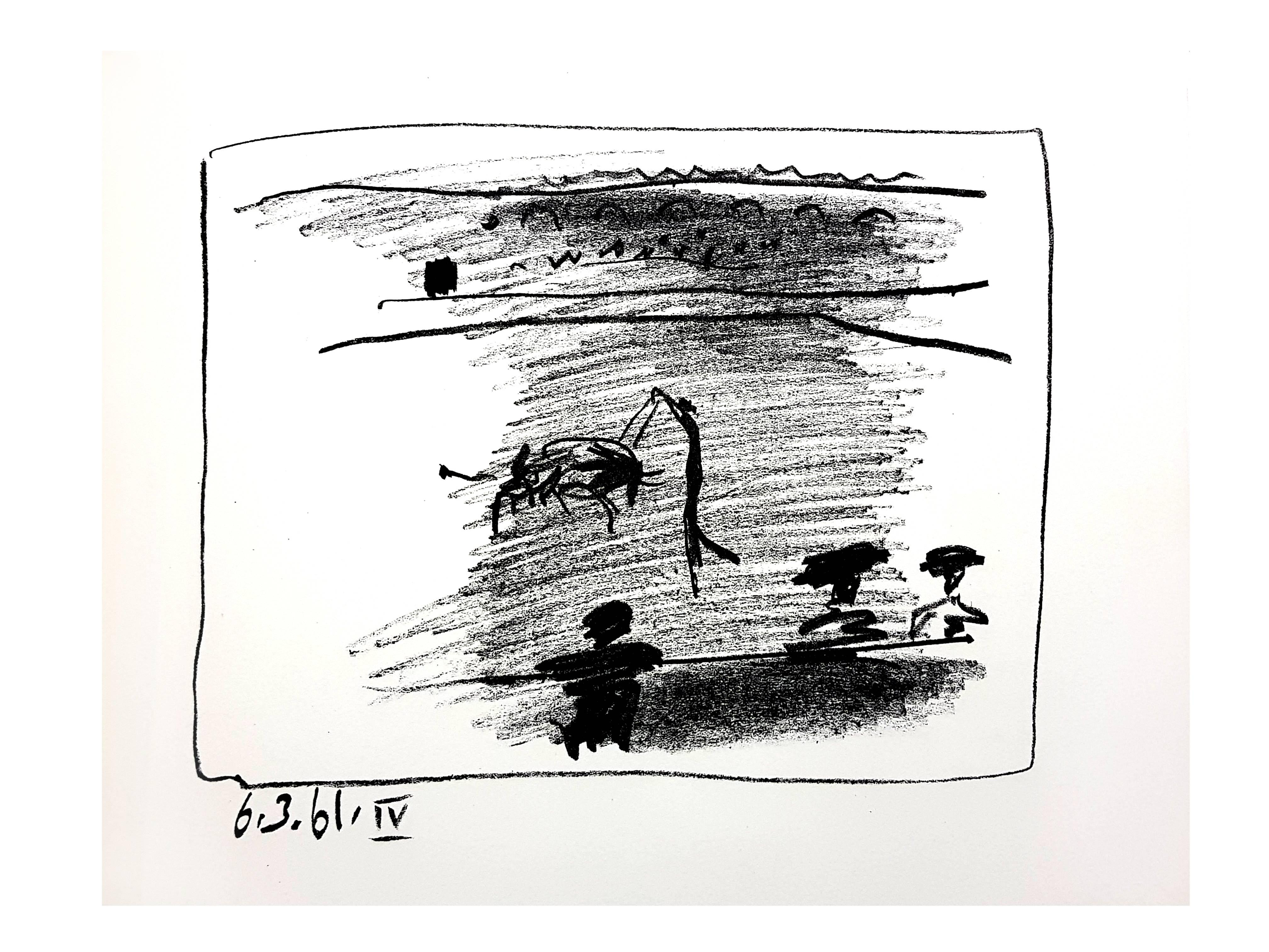 Pablo Picasso - Les Banderillas - Original Lithograph