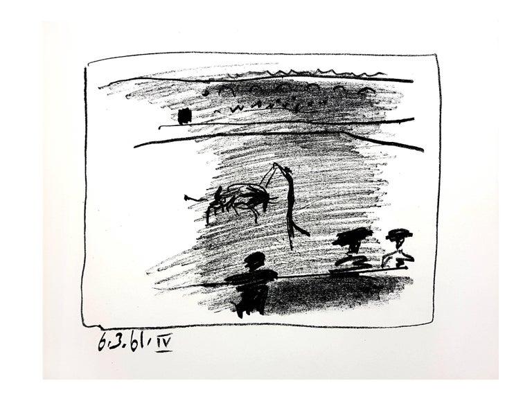 Pablo Picasso - Les Banderillas - Original Lithograph - Print by Pablo Picasso