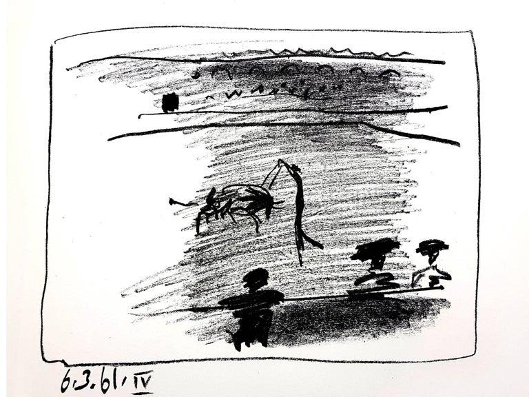 Pablo Picasso - Les Banderillas - Original Lithograph - Modern Print by Pablo Picasso