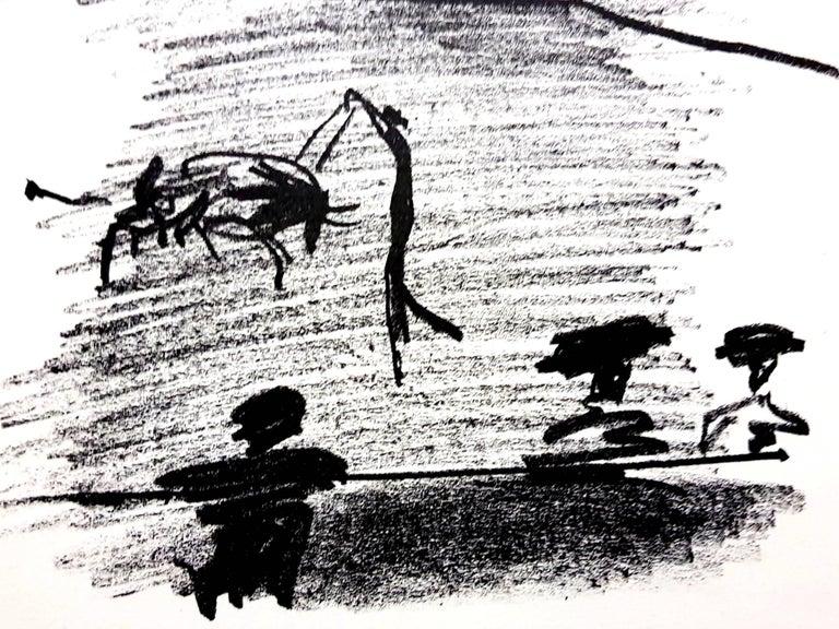 Pablo Picasso - Les Banderillas - Original Lithograph For Sale 1