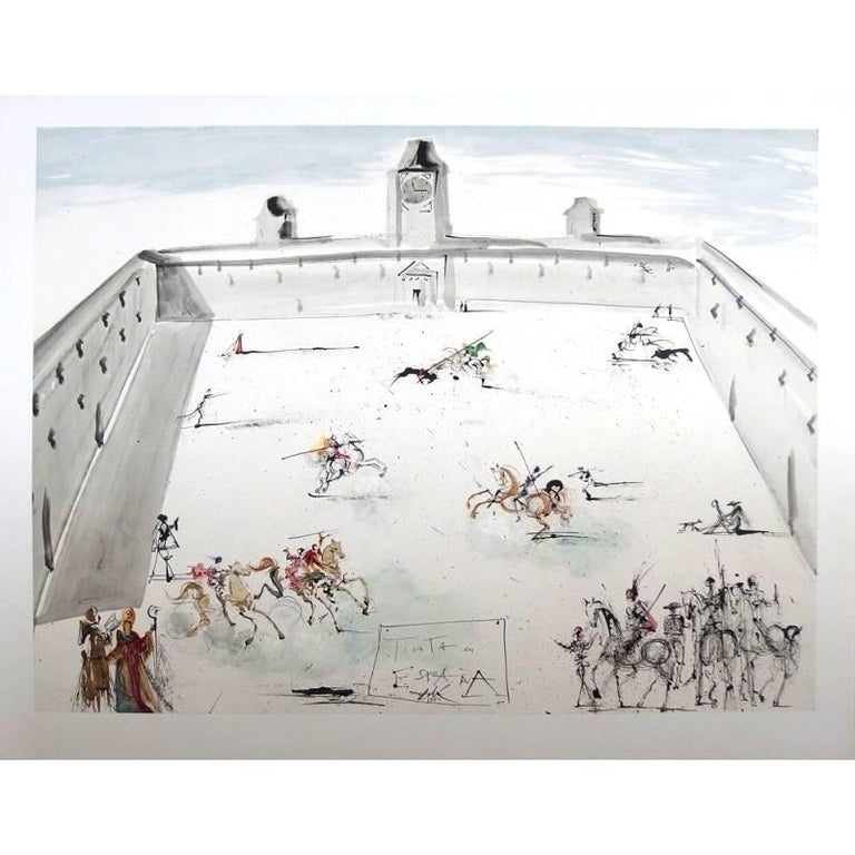 Salvador Dalí - Tienta en Espana - Lithograph