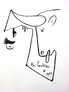 Jean Cocteau - Animalism - Original Lithograph