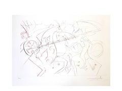 Salvador Dali - The Garde - Original Handsigned Etching