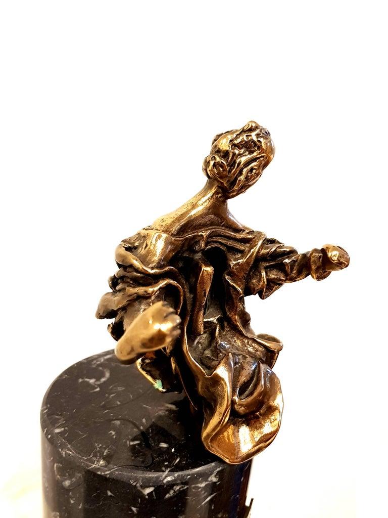 Salvador Dali - Madonna of Port Lligat - Signed Bronze Sculpture For Sale 7