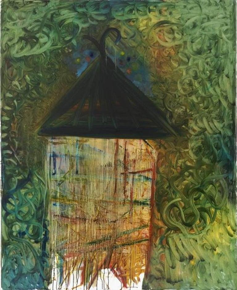 Yury Kharchenko - House of Jungle - Oil on Canvas
