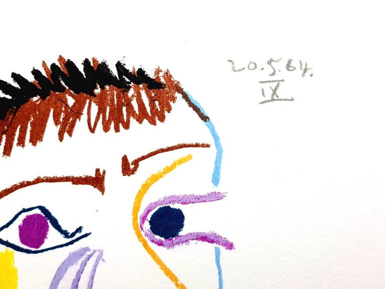 Le Goût de Bonheur: one plate (Portrait) - Print by (after) Pablo Picasso