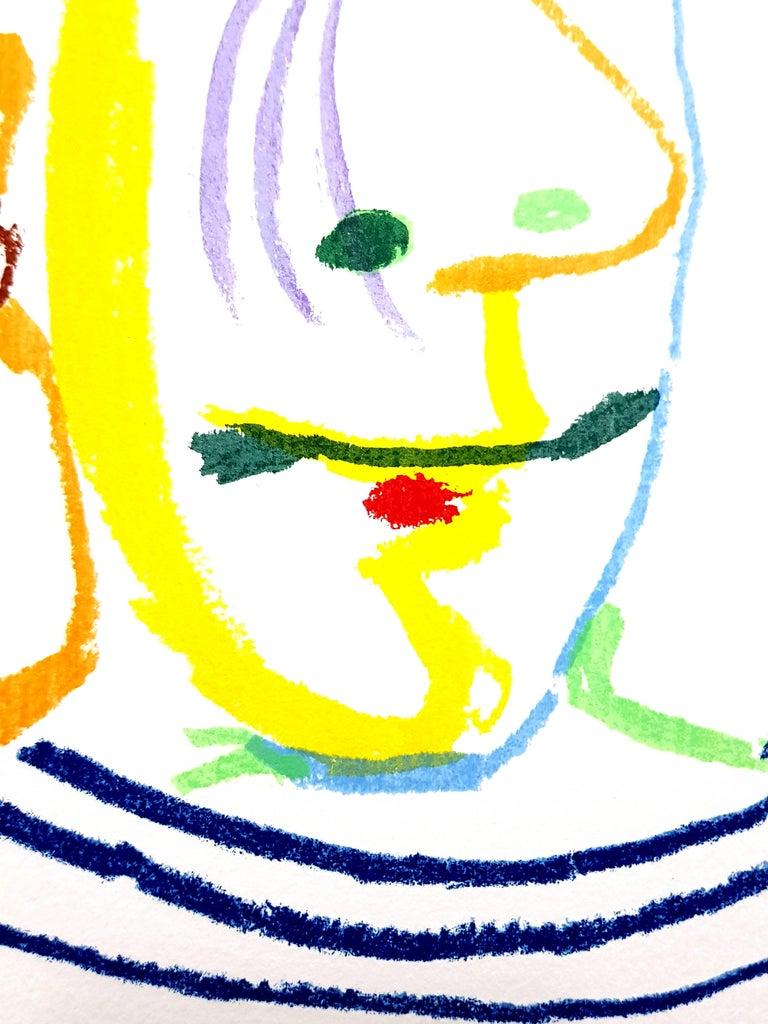Le Goût de Bonheur: one plate (Portrait) - Modern Print by (after) Pablo Picasso