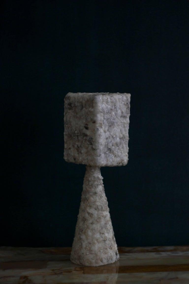 Naoki Kawano - Contemporary Sculpture - Topophilia Object no.2 - Black Abstract Sculpture by Naoki Kawano