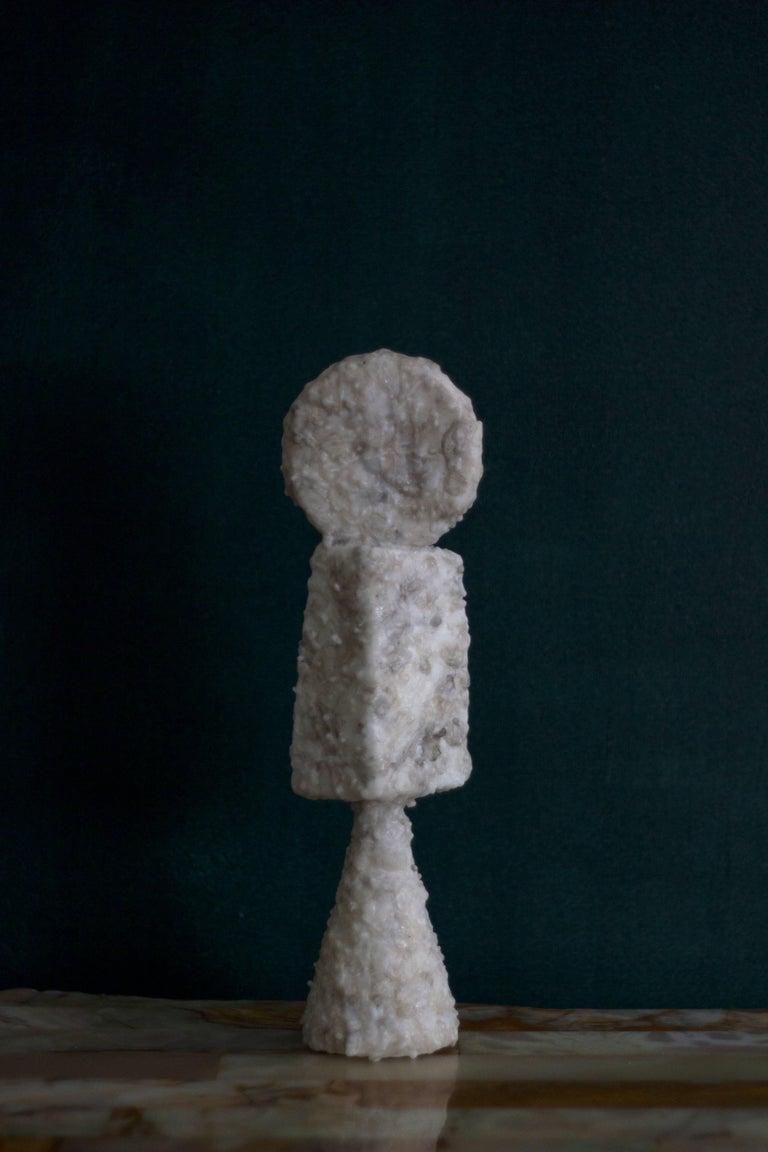 Naoki Kawano - Contemporary Sculpture - Topophilia Object no.3 - Black Abstract Sculpture by Naoki Kawano