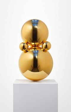 Gregory Orekhov - Little Gold Agatha - Gold Plated Sculpture