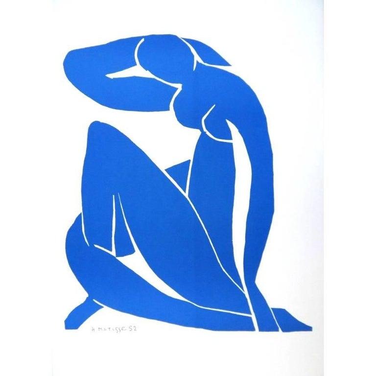 (after) Henri Matisse Nude Print - after Henri Matisse - Sleeping Blue Nude - Lithograph