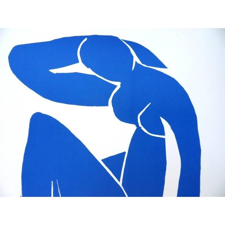 after Henri Matisse - Sleeping Blue Nude - Lithograph - Print by (after) Henri Matisse