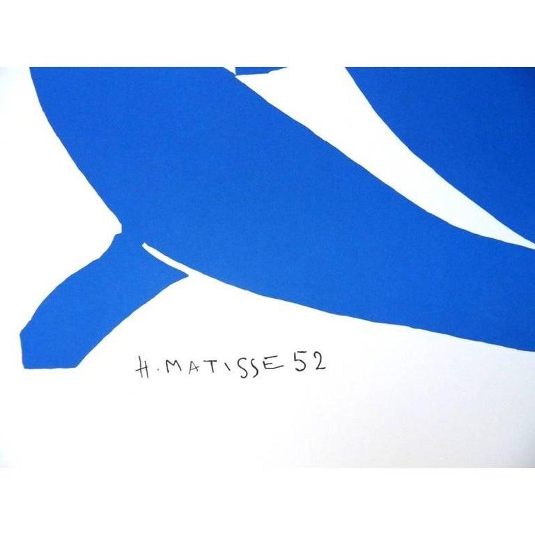 after Henri Matisse - Sleeping Blue Nude - Lithograph - Modern Print by (after) Henri Matisse