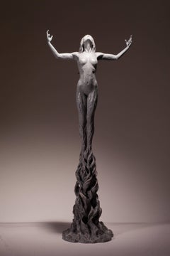 Ian Edwards - Born	within Fire - Original Signed Bronze Sculpure