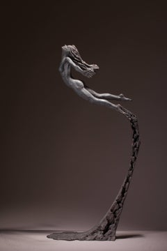 Ian Edwards - Leap Within Faith - Original Signed Bronze Sculpure