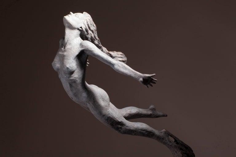 Ian Edwards - Leap Within Faith - Original Signed Bronze Sculpure For Sale 1