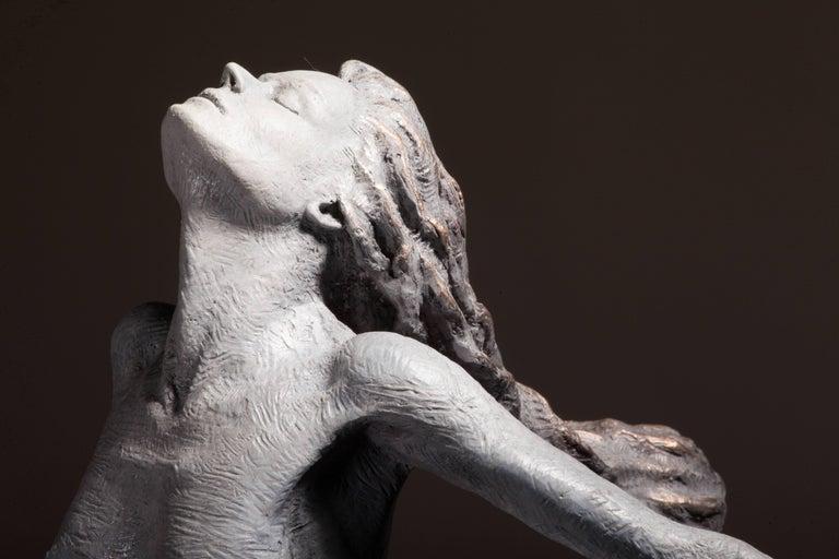 Ian Edwards - Leap Within Faith - Original Signed Bronze Sculpure For Sale 2