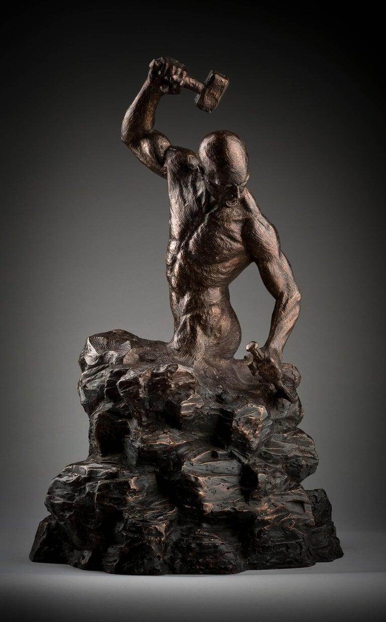 Ian Edwards - Creation of Self - Original Signed Bronze Sculpure
