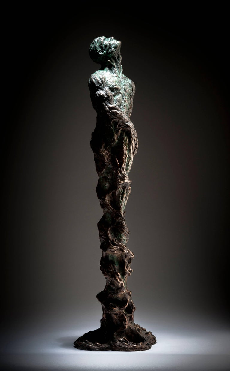 Ian Edwards - The Root Within - Original Signed Bronze Sculpure