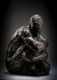 Ian Edwards - TheHour of Darkness - Original Signed Bronze Sculpure