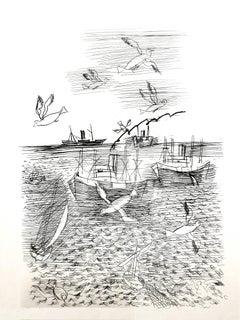 Raoul Dufy - Freedom - Original Etching