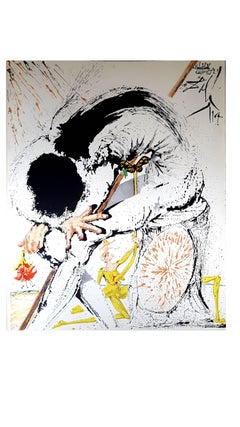 Salvador Dali - Don Quichotte - Original Lithograph