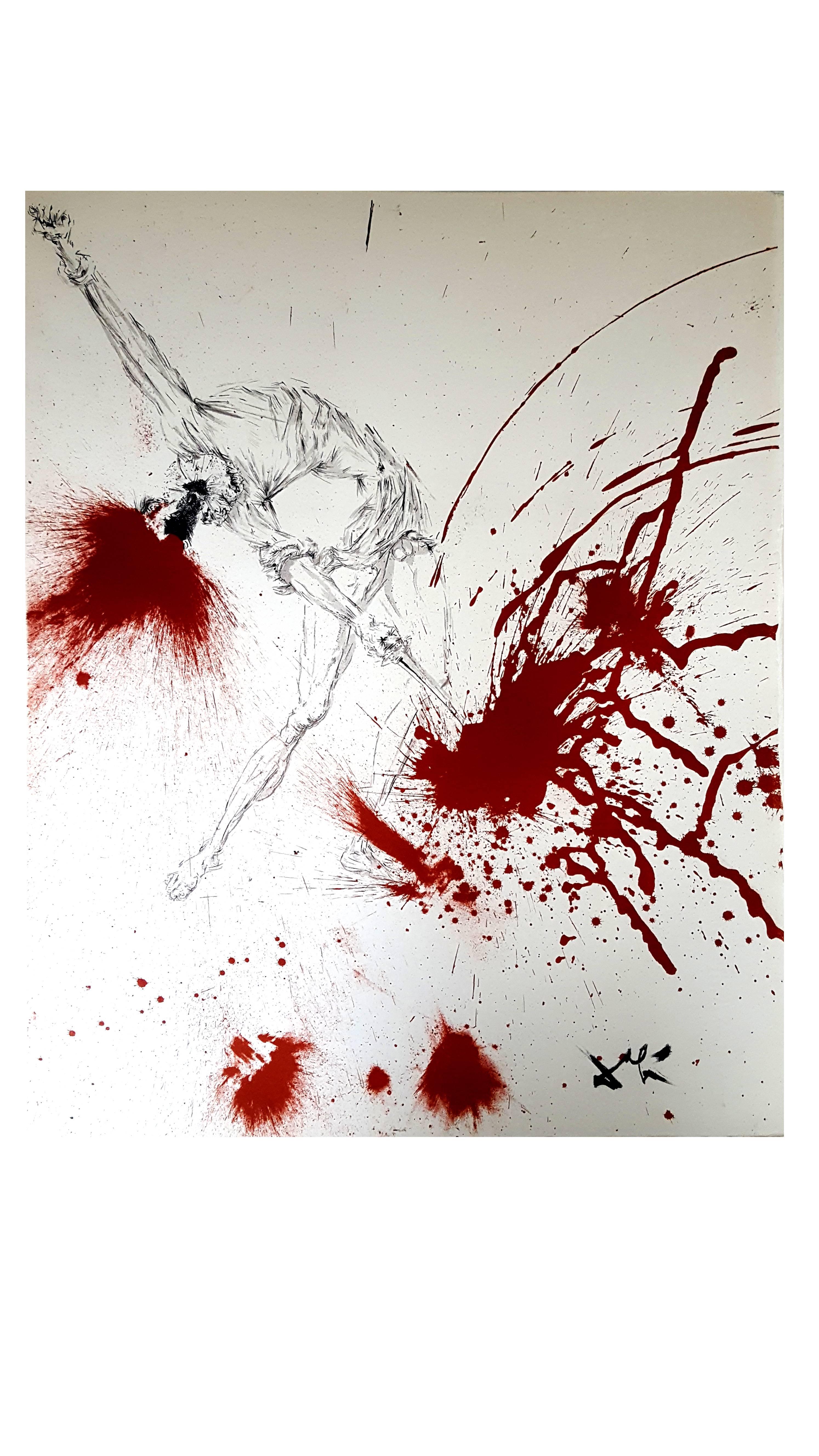 Salvador Dali - The Wine Casks - Original Lithograph