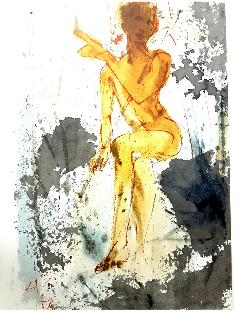 Salvador Dalí - Salvador Dali - Biblia Sacra - Lithograph, Print For ...
