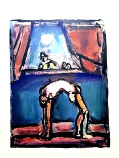 After Georges Rouault - Acrobat - Lithograph