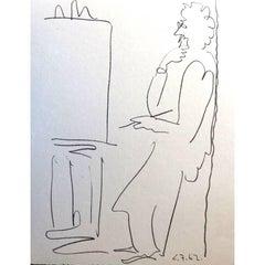 Pablo Picasso - The Painter - Original Lithograph