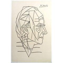 Pablo Picasso - A Poem - Rare Poster