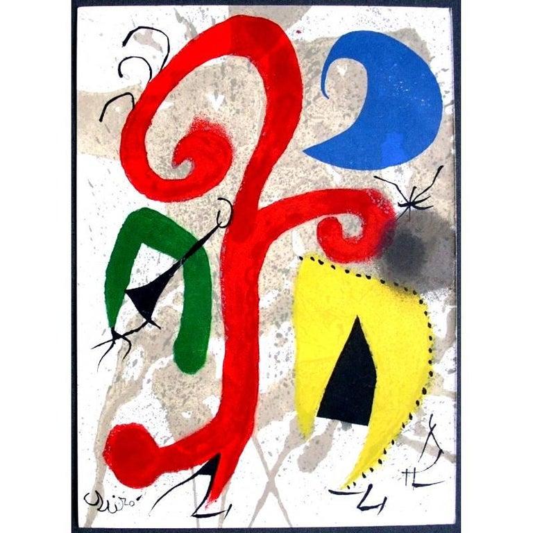 Joan Miró - Moonlight Garden - Original Lithograph